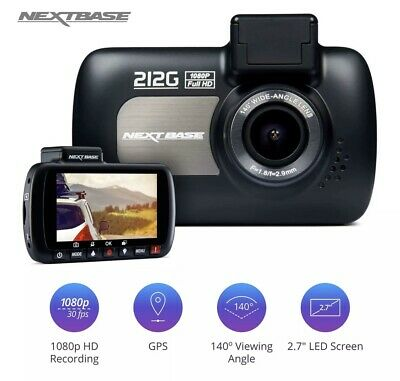 Nextbase 212G Car Dash Cam Front Recorder 1080p  ... Endorsed By AA