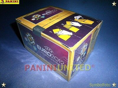 Panini★EURO 2012 EM 12★Box/Display 100 Tüten/packets/bustine - OVP/sealed