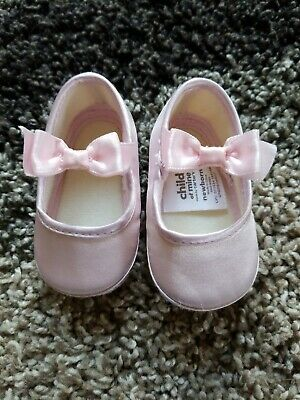 BABY GAP ballerina Pink knit Baby warm booties Shoes $16