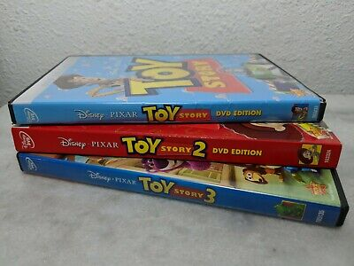 Toy Story 1 2 3 DVD (Triology Bundle) [786936798333+786936798807+786936805604]