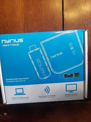 Nyrius Aries Prime Transmitter and Receiver (NPCS549) *New in Box*