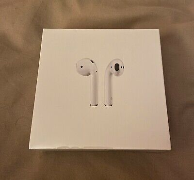 Genuine Apple 2nd Gen Airpods With Charging Case-Brand New And Sealed.