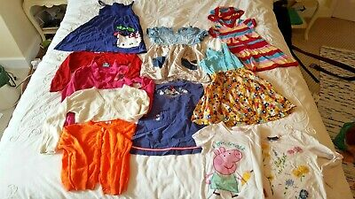 bundle girl toddler clothes 3-4 years PEPPA PIG MINNIE MOUSE NEXT M&S H&M DISNEY