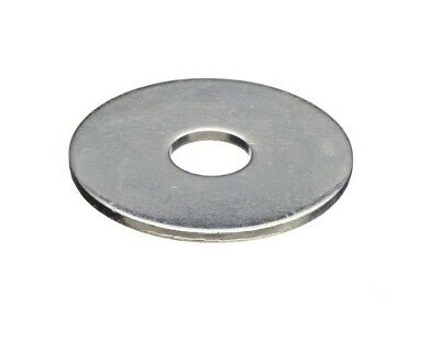 """Fender Washer x 1"""" OD 18-8 Stainless Steel, choose size (1/4, 5/16, 3/8) and qty"""