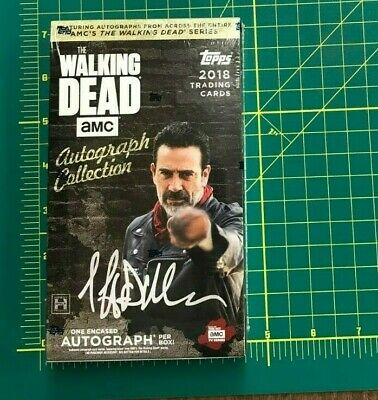 2018 Topps THE WALKING DEAD AUTOGRAPH COLLECTION FACTORY SEALED HOBBY BOX*