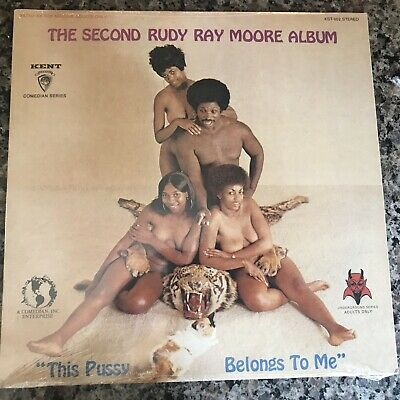 RUDY RAY MOORE The Second Album LP KENT rare 1970's SEALED/MINT Orig Shrink Wrap