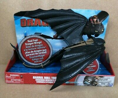 How to Train Your Dragons Barrel Roll Toothless Lights & Sounds Dreamworks - New