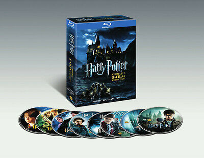 Harry Potter Complete 8-Movie Blu Ray Collection - BRAND NEW!!