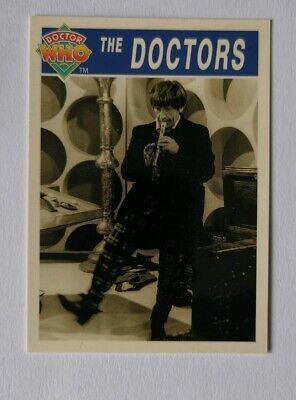 Rare Doctor Who Trading Card Of (The Doctors)