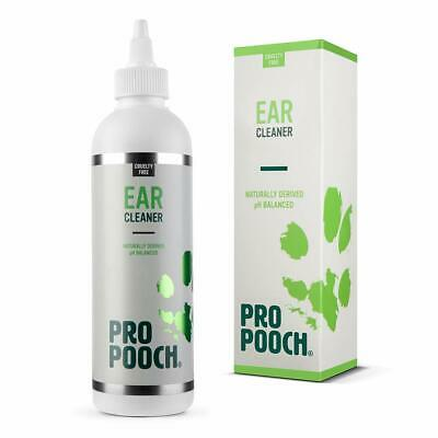 Pro Pooch Dog Ear Cleaner (250 ML) Stop Itching, Head Shaking & Smell. Vet Recom