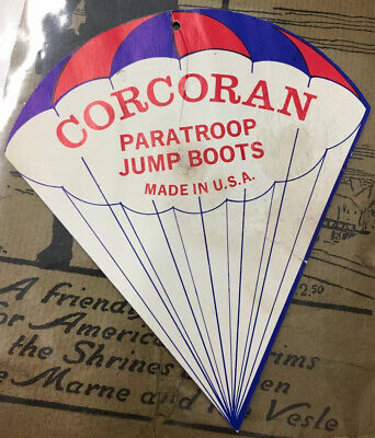Corcoran Paratroop Jump Boots Tag