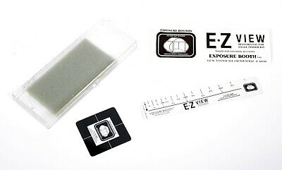E.Z. View Exposure Booth Large Format Camera Bellows Calculator