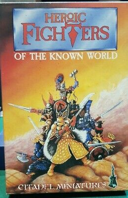 Heroic Fighters of the Known World Games Workshop 8 metal miniatures Jes Goodwin