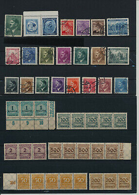 Germany, Deutsches Reich, Nazi, liquidation collection, stamps, Lot,used (ML 51)