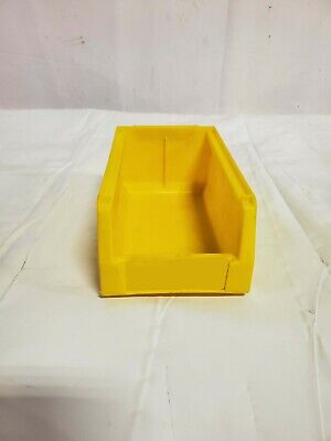 Lewis Systems Plastic Hang/Stack Bins, Model WHD43-8 Yellow
