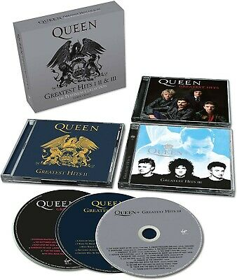 QUEEN PLATINUM COLLECTION: GREATEST HITS I, II, & III, Brand New and Sealed
