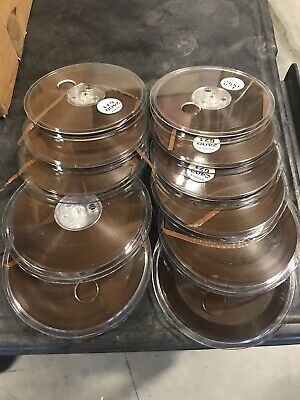Lot Of 12 Ampex 671 (2400ft-extra play) NOS Reel To Reel Tapes.