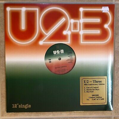 "U2 Three 12"" Vinyl 2019 Record Store Day Black Friday RSD New and Sealed"