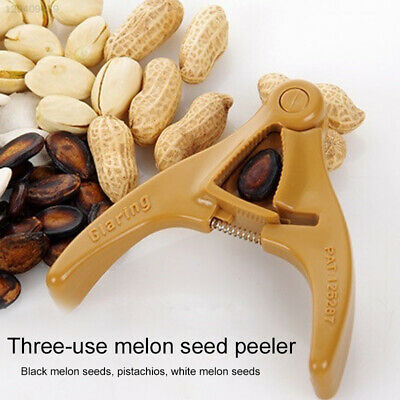 E82A Safety Seeds Plier Scissor States Teeth Friend Portable Melon Seed Sheller