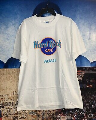 LIMITED TIME NEW HARD ROCK CAFE WILLIE NELSON /& GUITAR MAUI HAWAII T SHIRT L