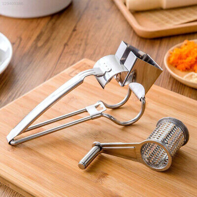 8A96 Silver Cheese Graters Household Gift Useful Ginger Cutter