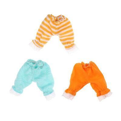 Doll Clothes Pantalettes Bloomers Pants for BJD Blythe Dolls 1//6 Doll Toy