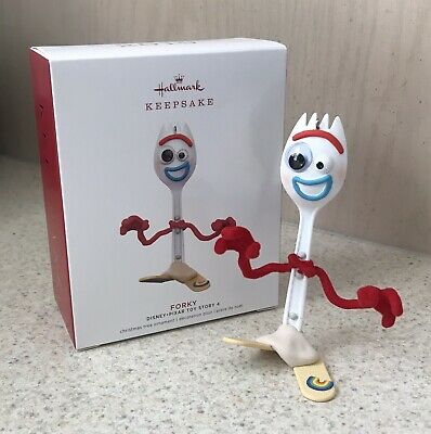 2019 Hallmark Keepsake Ornament Forky Toy Story 4 Popular Character Disney Pixar