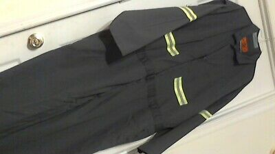 Red Kap Hi-Visibility Safety Work  Coveralls ( 58-Rg ) Gray Pre-Owned