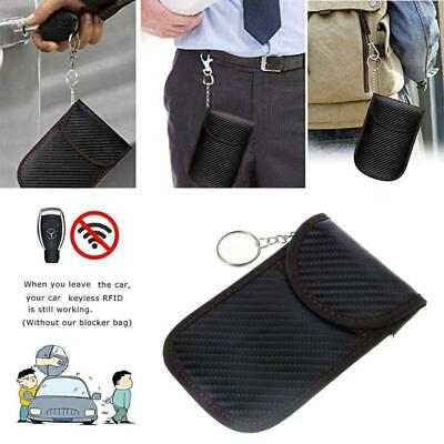 Faraday Bag Anti Theft RFID Key Fob Security Box Signal Blocking Pouch For Car