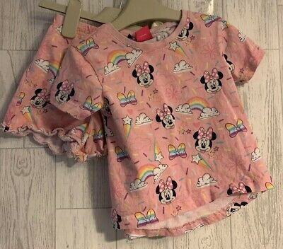 Girls Age 3-4 Years - Shorts Pyjamas