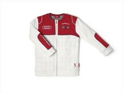 Audi Baby Racer Sweat Jacket,Audi Sport,white/red,62/68 3201400403