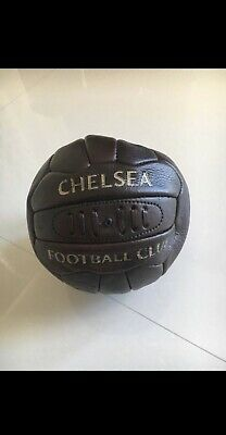 Official Chelsea FC Size 5 Retro Heritage Faux Leather Football