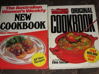 Australian Womens Weekly Cookbooks The Original And New Recipes Cookbooks  Retro