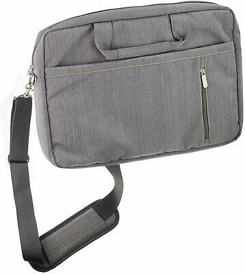 Navitech Grey Laptop Bag For HP 255 G7 (15.6 inch Full HD) Notebook NEW