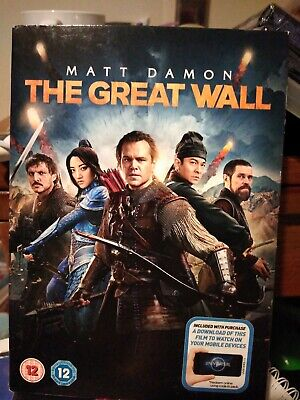 The GREAT WALL (Matt Damon) Dvd