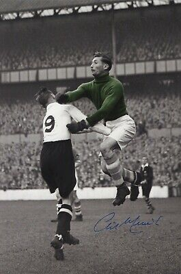 Birmingham City F.C. & England  'Gil Merrick' - In Person Signed Photograph.