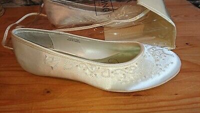 Wedding Collection ivory Bridal shoes womens uk size 6 *New* eu 39