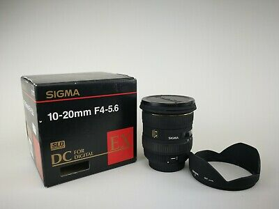 Sigma EX 10-20mm F/4.0-5.6 HSM DC EX Lens For Canon