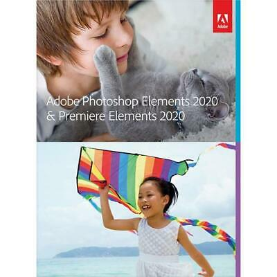 Adobe Photoshop Elements & Premiere Elements 2020 new cd in the box