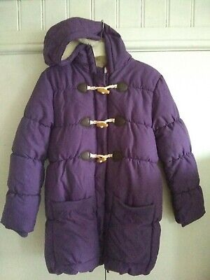 Girls John Lewis Purple Padded Coat Age 12 - Excellent condition