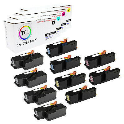TCT 8PK Color Toner Cartridge set the Xerox WorkCentre 6015 Phaser 6000 6010