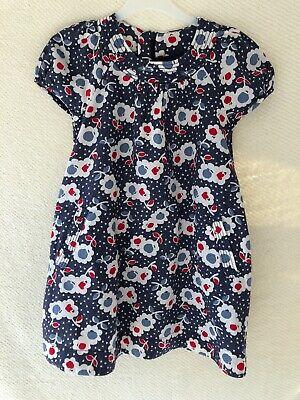 Girls Mini Boden Tunic Lined Dress 5-6years Immaculate
