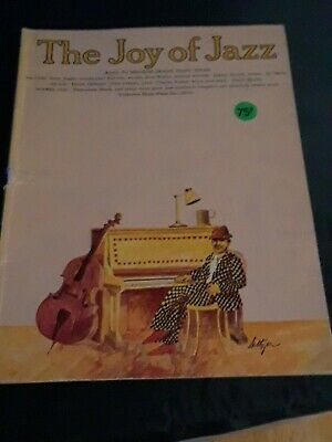 The Joy of Jazz Easy to Medium Grad Piano Solos Sheet Music Book 1964 Yorktown