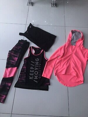 Outfit Hm Girls Gym Set Outfit Age 10