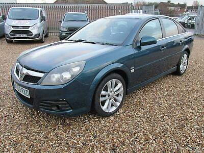 VAUXHALL VECTRA CDTi 120 SRi 2009 Diesel Manual in Turquoise