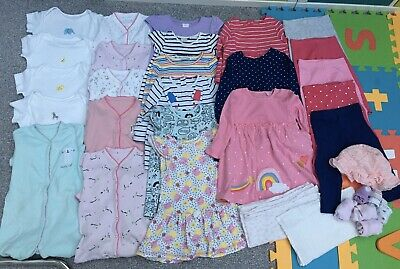 Baby Girl's Clothes Bundle 9-12 Months Next Boots Mothercare