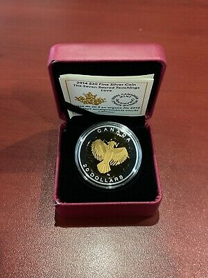 2014 $20 Fine Silver Coin The Seven Sacred Teachings Love Royal Canadian Mint