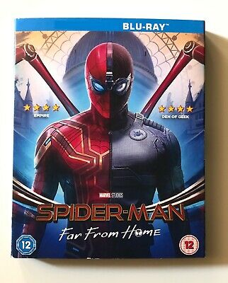 Spider-Man: Far From Home (Blu-ray) (No 3D) - Region Free UK Import