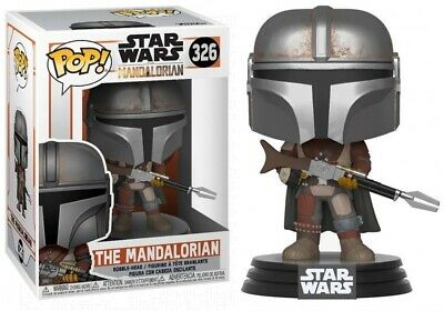 Funko POP! Star Wars #326 The Mandalorian Vinyl Figure W/Protector Included!