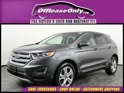 2017 Ford Edge Titanium EcoBoost AWD Off Lease Only 2017 Ford Edge Titanium EcoBoost AWD Intercooled Turbo Premium Un
